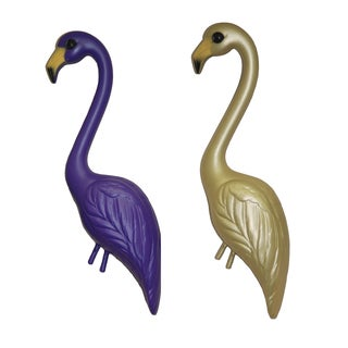 Pink Inc. YSW2-PUGO 33-inches Purple & Gold Flamingo