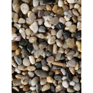Exotic Pebbles & Aggregates PMS-0510 5-pound Mixed Polished Gravel