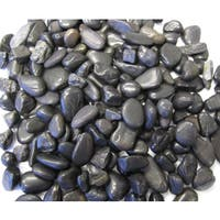 Exotic Pebbles & Aggregates PBS-0510 5-pound Black Polished Gravel