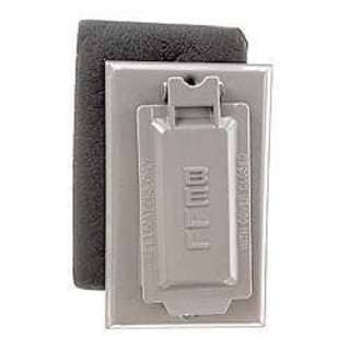 Bell Outdoor 5103-0 Grey Single Gang Weatherproof GFCI Box Cover