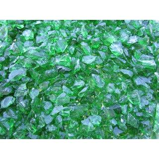 Exotic Pebbles & Aggregates EG10-L11 10-pound Green Glass Pebbles