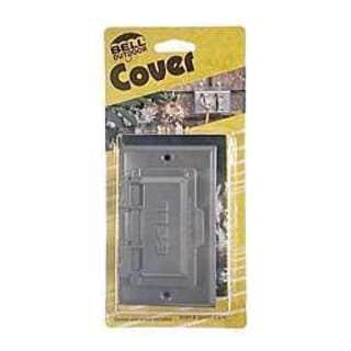 Bell Outdoor 5101-5 Grey Single Gang Weatherproof GFCI Box Covers