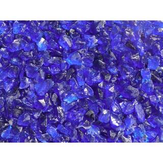 Exotic Pebbles & Aggregates EG02-L05S 2-pound Ocean Blue Glass Pebbles