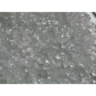 Exotic Pebbles & Aggregates EG02-L01S 2-pound Ice Clear Glass Pebbles