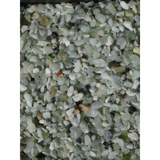 Exotic Pebbles & Aggregates BPJS-464 5-pound Jade Bean Pebbles