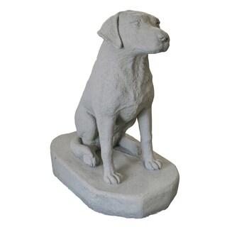 Emsco Group 2303-1 30-inches Sitting Labrador Statuary
