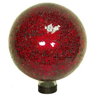 Echo Valley 8197 10-inches Red Mosaic Gazing Globe
