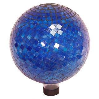 Echo Valley 8195 10-inches Blue Hues Mosaic Gazing Globe