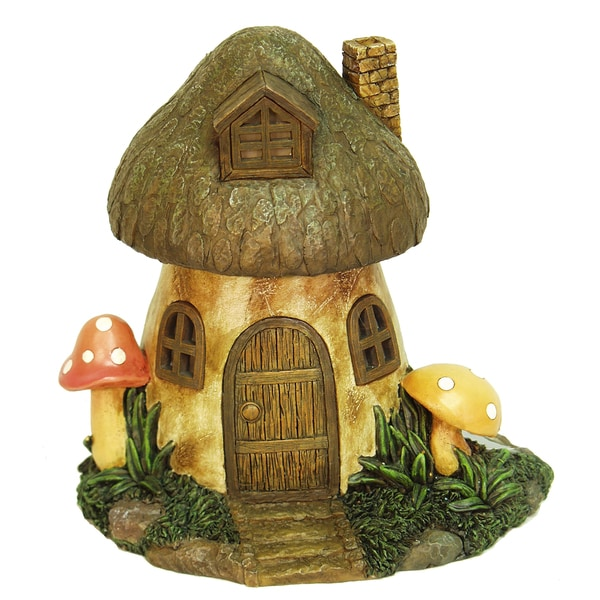 Shop Echo Valley 6291 8 5 Inches Solar Mushroom Fairy Or