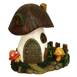 Echo Valley 6290 8.5-inches Toadstool Solar Home