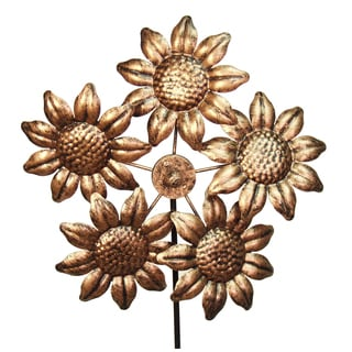 Echo Valley 4333T 12-inches Blooming Sunflower Pinwheel