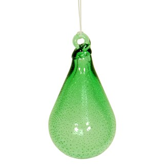 Echo Valley 14451W 5.25-inches Stardust Teardrop Ornament