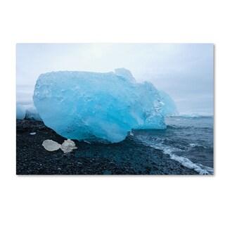 Philippe Sainte-Laudy 'The Blue Egg' Canvas Art