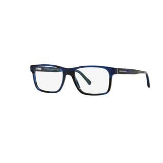 Burberry BE2198 3546 Spotted Blue Plastic Rectangle Eyeglasses with 53mm Lens