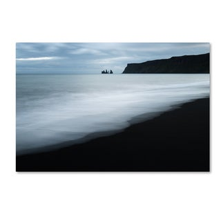 Philippe Sainte-Laudy 'White Waves' Canvas Art