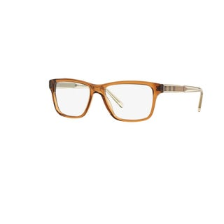 Burberry BE2214F 3567 Brown Plastic Square Eyeglasses with 55mm Lens