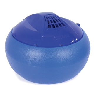 Crane EE-8619B 1 Gallon Blue Warm Steam Tabletop Vaporizer Humidifier