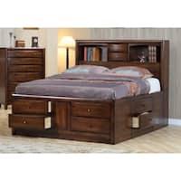 Coaster Company Hillary Walnut Storage Bed
