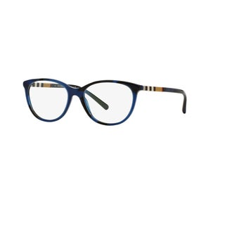 Burberry BE2205 3546 Spotted Blue Plastic Round Eyeglasses with 52mm Lens