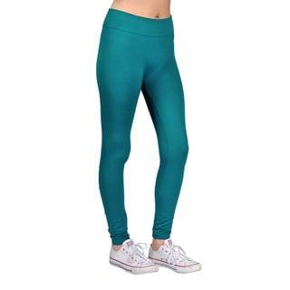 Womens Fashion Teal Blue Leggings