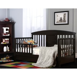 Dream On Me Black Deluxe Toddler Day Bed