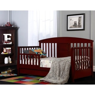 Dream On Me Red Deluxe Toddler Day Bed