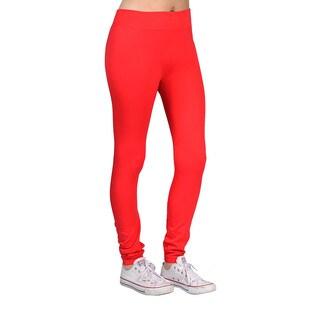 Women's Red Fashion Leggings