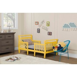 Dream On Me Emma Yellow 3-in-1 Convertible Toddler Bed