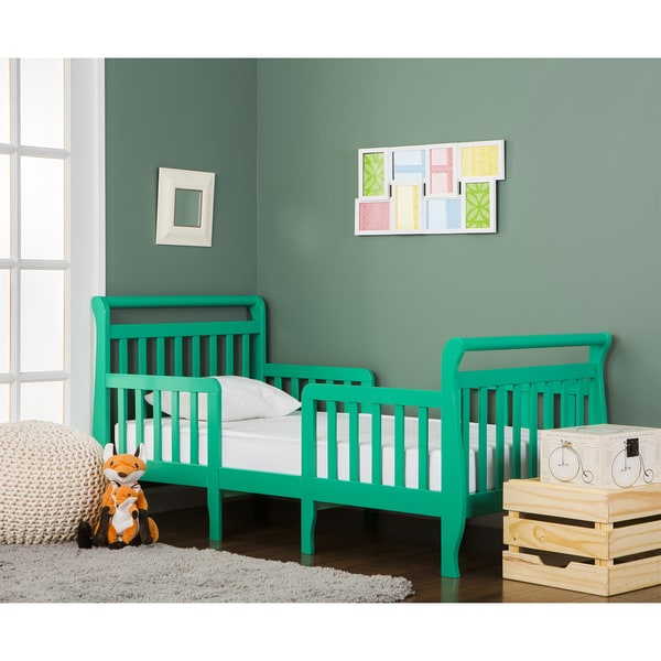 Shop Dream On Me Emma Green 3-in-1 Convertible Toddler Bed
