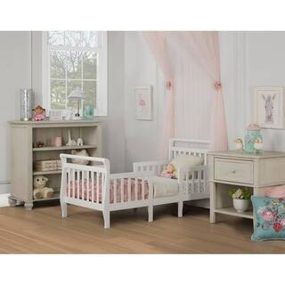 Dream On Me Emma White 3-in-1 Convertible Toddler Bed|https://ak1.ostkcdn.com/images/products/12383083/P19205874.jpg?impolicy=medium
