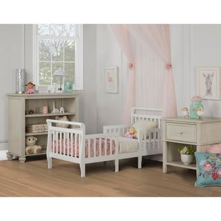 Dream On Me Emma White 3-in-1 Convertible Toddler Bed