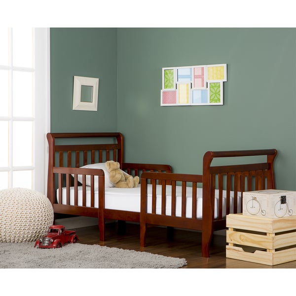 Dream On Me Emma Espresso 3 In 1 Convertible Toddler Bed