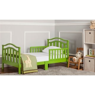Dream On Me Elora Collection Green Toddler Bed