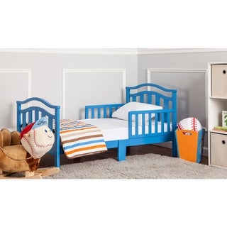 Dream On Me Elora Collection Blue Toddler Bed