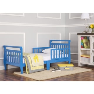 Dream On Me Blue Toddler Sleigh Bed