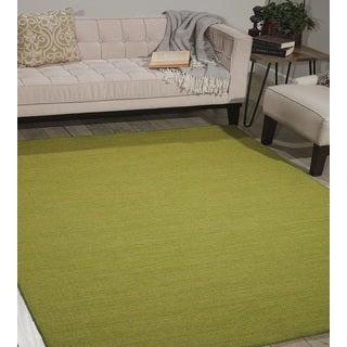 Nourison Nolan Grass Green Area Rug (5'3 x 7'5)