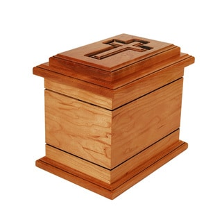 Star Legacy Wilmington Natural Cherry Wood Cremation Urn