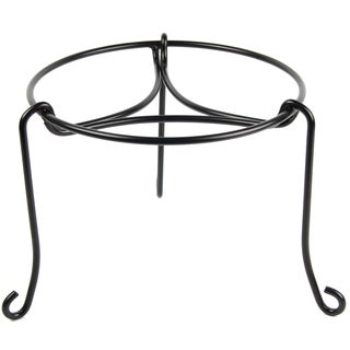 Plastec PS101BK 8-Inches Black Patio Stand