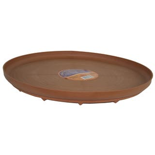 Plant Stand 41630 16-Inches Terra Cotta Down Under Plant Turner https://ak1.ostkcdn.com/images/products/12383185/P19205966.jpg?impolicy=medium