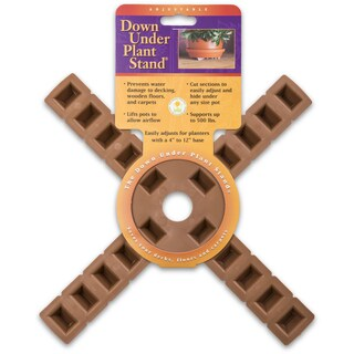 Plant Stand 10430 12-Inches Terra Cotta 4-Arm Plant Stand
