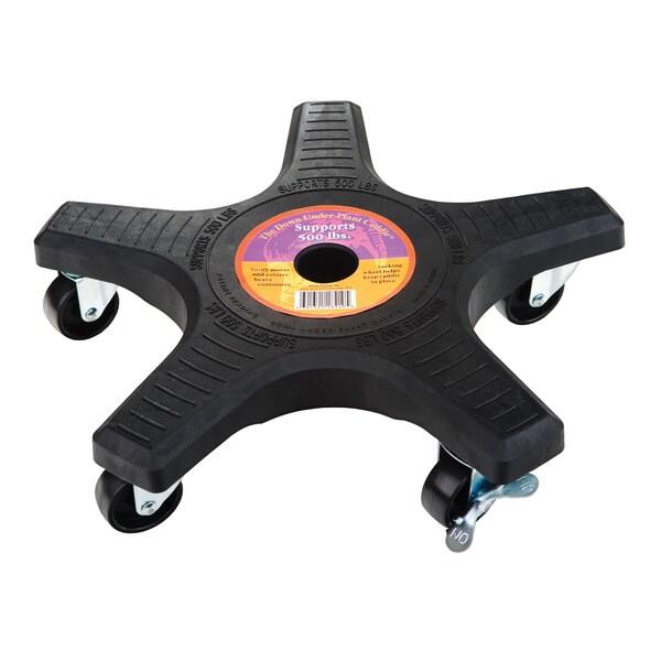 Shop Down Under Plant Caddie 14410 14 Inches Black 5 Wheel