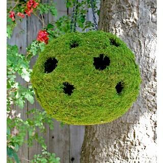Super Moss 29343 18-Inches Woven Ball Planter