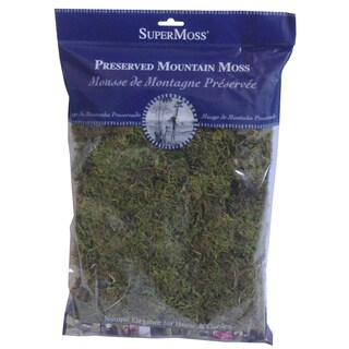 Super Moss 23802 Green Sphagnum Fine Preserved Mountain Moss