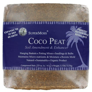 Super Moss 23290 Coco Peat Bale
