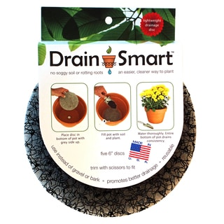 Pot Risers DS-6-5PK 6-Inches Drain Smart Discs 5-count