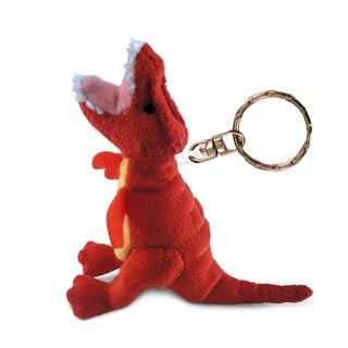 T-rex Puzzled Plush Keychain