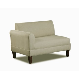 Carolina Accents Briley Sand Left Arm Loveseat