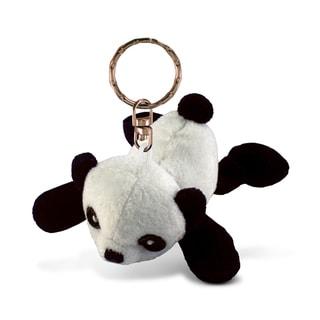 Puzzled Plush Panda Keychain