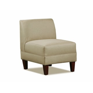 Carolina Accents Briley Sand Armless Accent Chair