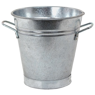 Hit Corp 8135 7-Inches x 7-Inches Galvanized French Pail